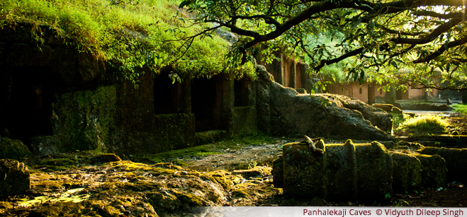 Panhalekaji Caves  - Vidyuth Dileep Singh